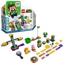 LEGO Super Mario Adventures with Luigi Starter Course 71387 Toy Building Kit (280 Pieces)