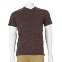 George Men's Heather Pocket Tee Burgundy XL