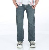 Wrangler Jeans Co. Boys' Straight Leg Denim Jeans 14R