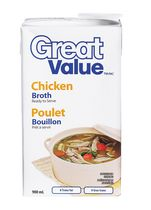 Bouillon de poulet de Great Value
