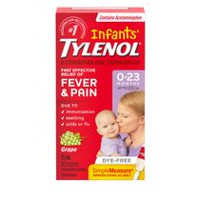 Infants' TYLENOL® Concentrated Drops 15mL, White Grape Flavour