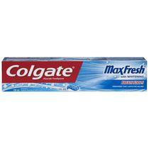 Dentifrice en gel blanchissant au fluorure Colgate MaxFrais Menthe fraîche