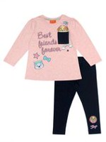 Best Friend Forever-Paw Patrol Toddler Girls' Tunic  and Legging 2PC Set 3T