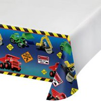Nappe en plastique Zone de construction de Creative Converting