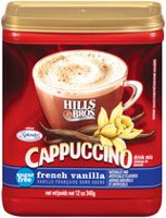 Hills Bros Cappuccino Sugar Free French Vanilla Drink Mix