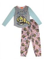 Aim For The Stars! Paw Patrol Girls' Long Sleeve Pajamas 2 Piece Set XS