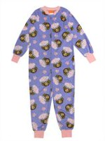 Skye ZZZ-Paw Patrol Girls' Long Sleeve Zip Up Onesie M
