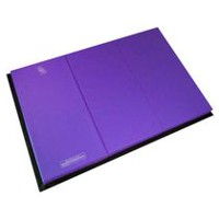 Apple Athletic 3 Panel Exercise Mat Purple