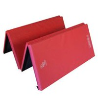 Apple Athletic 4 Panel Exercise Mat Red