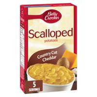 Betty Crocker Country Cut Cheddar Scalloped Potatoes