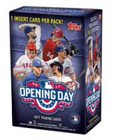 2017 Topps Opening Day MLB Value Box - English