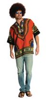 Costume de Hippie pour adulte, grand Tres grand
