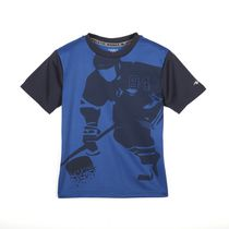 Athletic Works Boys' Short Sleeved Active Graphic Tee 6