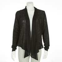 George Women's Waterfall cardigan Black L