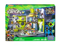 Mega Bloks Teenage Mutant Ninja Turtles - Lair Hideout Building Set