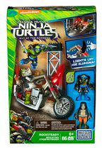 Mega Bloks Teenage Mutant Ninja Turtles - Rocksteady Moto Attack Building Set