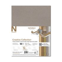 Creative Collection Naturals Premium Cardstock, 50 Sheets