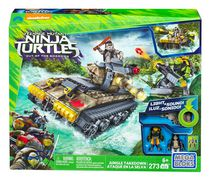 Mega Bloks Teenage Mutant Ninja Turtles - Jungle Takedown Building Set