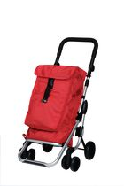 "Playmarket ""Go Up"" Shopping Trolley - Red"