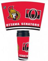NHL Ottawa Senators Contour Travel Mug