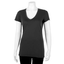 George Women's V-Neck T-Shirt Black XL/TG