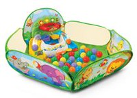 Pop-a-Balls™ Drop & Pop Ball Pit™ - English Version