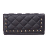 Nicci Women's Large Clutch Black