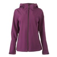 George Women's Soft Shell Jacket Purple L