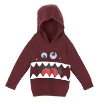 George Toddler Boys' Popover Character Hoody 4T