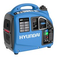 Hyundai HY2000Si: 2000 Watt Portable Gasoline Inverter Generator with USB