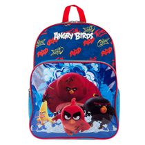 Angry Birds Printed Mesh Panel Backpack