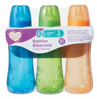 Parent's Choice BPA free 9oz Bottles