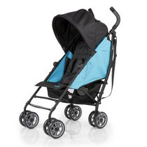 Summer Infant 3D Flip Convenience Stroller Black/Blue