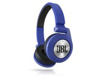 JBL E40BT On-Ear Bluetooth Headphones with ShareMe music sharing Blue