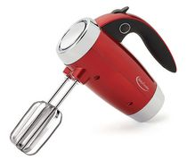 Betty Crocker™ Metallic Red 7-Speed Power-Up™ Hand Mixer With Stand
