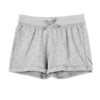 George Girls' Jersey Shorts Grey XS
