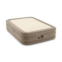 Intex 20in Queen Thermalux Airbed with Internal Pump