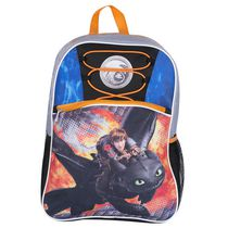 How to Train Your Dragon 2 Printed Mesh Panel Backpack