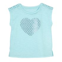 George Girls' Sleeveless Graphic Tee S/P