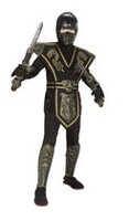Gold Dragon Ninja Costume Medium