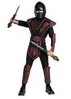 Rubie's Red Skull Ninja Child Costume Medium