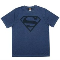 Superman Men's Moisture Wicking Short Sleeve T-Shirt Medium