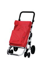 "Playmarket ""Go Plus"" Shopping Trolley - Red"