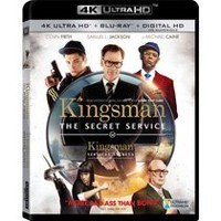 Kingsman : Services Secrets (4K Ultra HD + Blu-ray + HD Numérique) (Bilingue)