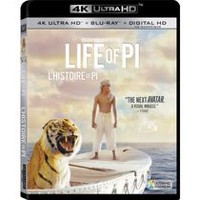 Life Of Pi (4K Ultra HD + Blu-ray + Digital HD) (Bilingual)