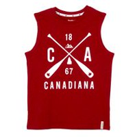 Canadiana Boys' Muscle Shirt M
