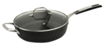 Starfrit The Rock 4.1 quart/11 inch Deep Fry Pan with Lid