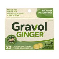 Gravol™ Natural Source Ginger Soft Lozenges
