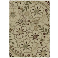 Orian Rugs Floral Glory Indoor Outdoor Area Rug 3 ft. 10 in. x 5 ft. 5 in.