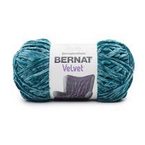 BERNAT VELVET YARN, (300G / 10.5 OZ), VELVETEAL